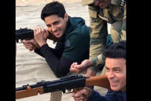 Team 'Aiyaary' followed Jawans routine at the BSF camp   See Pics