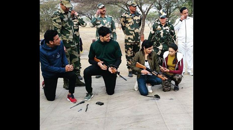 Aiyaary, Republic Day, BSF, Rakul Preet Singh, Neeraj Pandey, Sidharth Malhotra, Manoj Bajpayee, Pooja Chopra