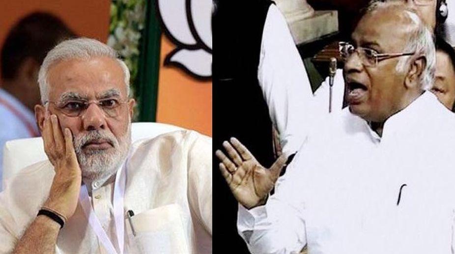 Lokpal panel meet, Congress, PM Modi, Mallikarjun Kharge, Narendra Modi