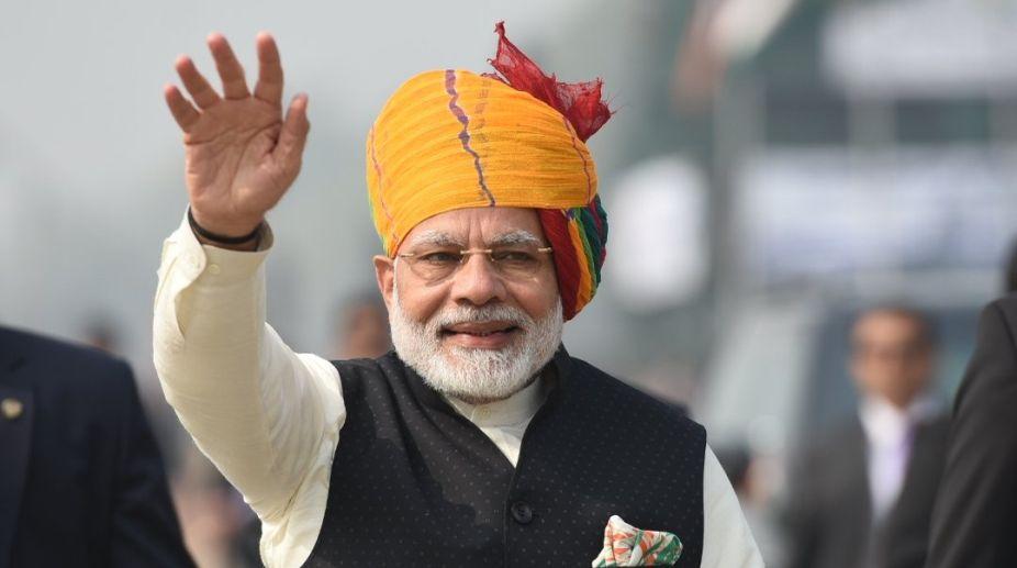 Narendra Modi, PM Modi, birthday greetings, Raghubar Das, Uma Bharti