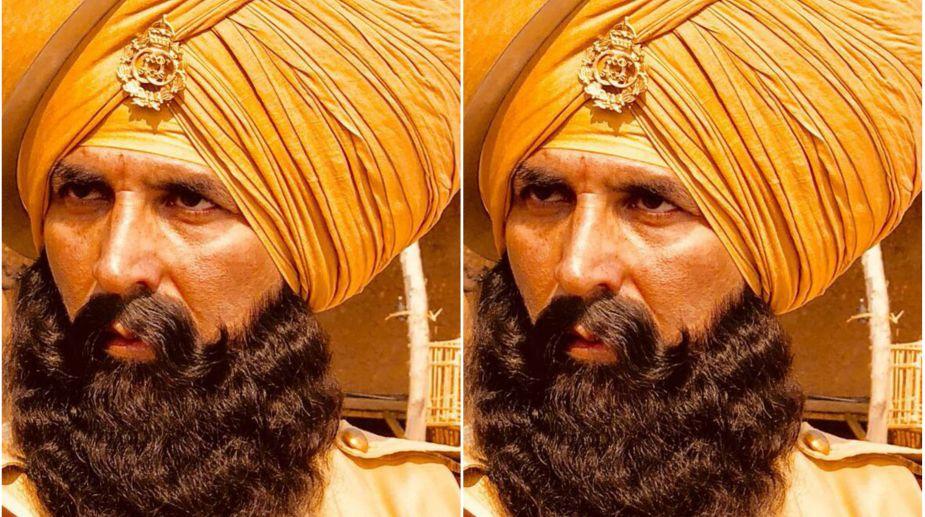 Akshay Kumar, Kesari, Saffron turban