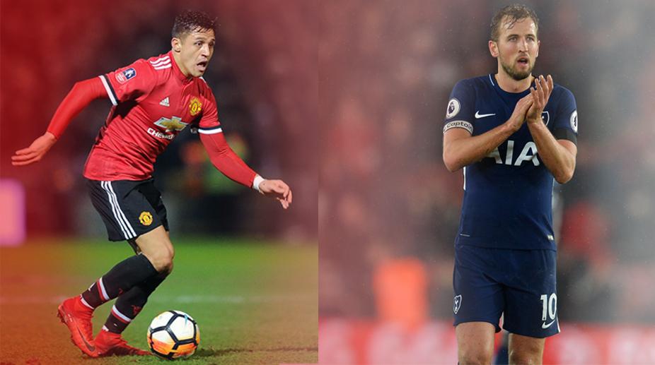 Alexis Sanchez, Harry Kane, Tottenham Hotspur vs Manchester United, Manchester United F.C., Premier League