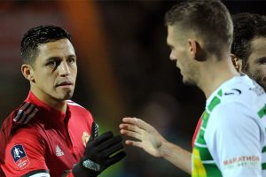Alexis Sanchez gets MoM award on debut, Yeovil Town unimpressed