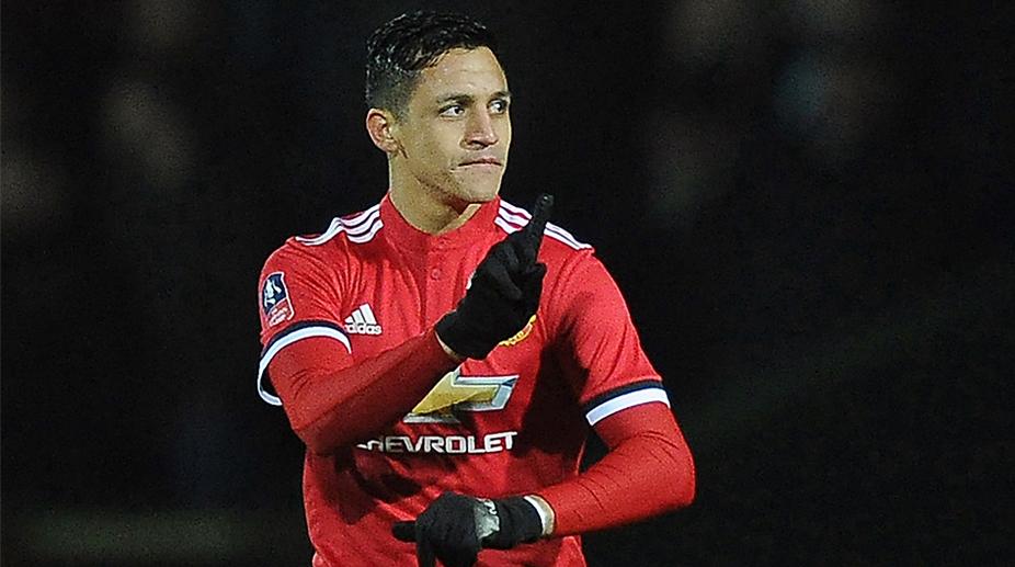 Alexis Sanchez, Manchester United F.C., Premier League, Yeovil Town vs Manchester United, FA Cup