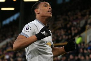 Premier League: Anthony Martial nets winner for Manchester United at Burnley