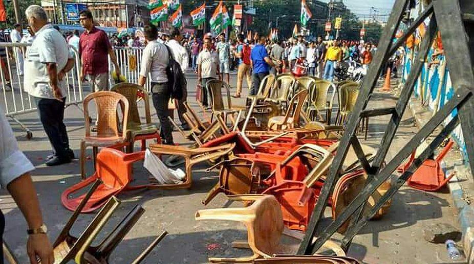 BJYM rally Kolkata