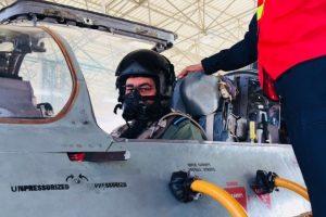 IAF chief BS Dhanoa undertakes two sorties in MiG-21 in Rajasthan