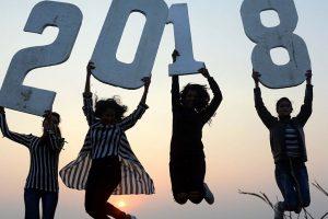 Goodbye 2017, India welcomes 2018