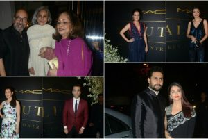 In pics: B-town makes Micky Contractor's celebration grand