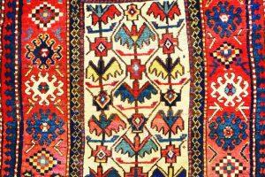 Tribal carpets show