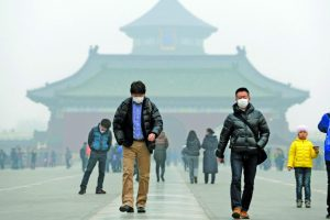 China pushes agenda for climate change leadership