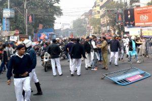 BJP-Trinamool clashes erupt over bike rally