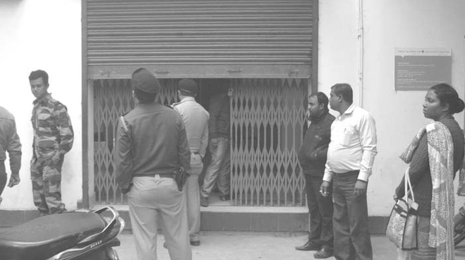 Ujjivan Small Finance Bank Robbed