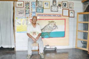 Last veteran of Netaji's INA still cherishes first flag
