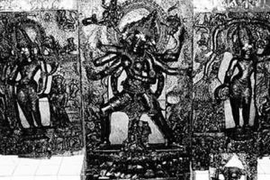 Missing case of ancient idol revealed, burglar held from UP