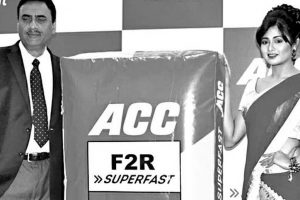 ACC cement launches its new product ACC F2R in Bhubaneswar