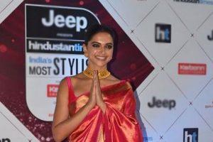Deepika Padukone recreates Padmaavat pose at HT Most Stylish Awards