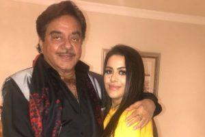 Shatrughan Sinha meets Sanjay Dutt's 'beautiful' daughter