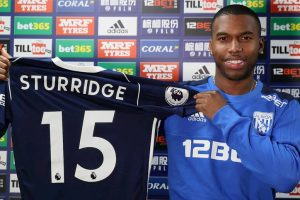 Liverpool striker Daniel Sturridge signs on loan for West Bromwich Albion