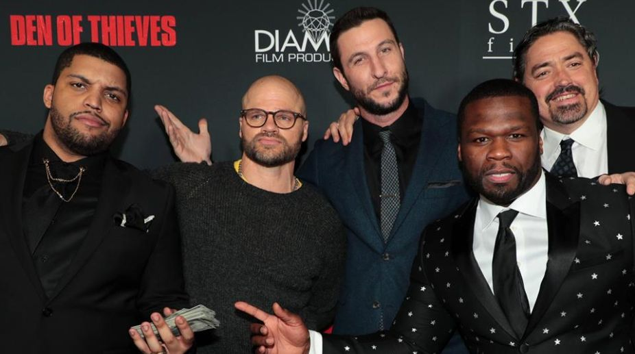 50 Cent, Den of Thieves, Christian Gudegast, Hollywood