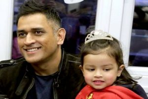 Video: MS Dhoni interacting with kids during Ziva's first annual day is best thing you will see today