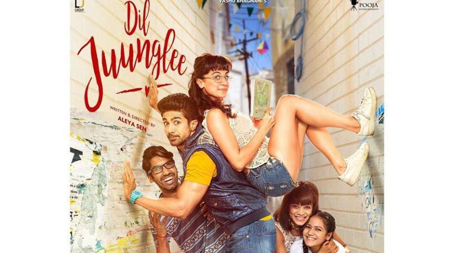 Taapsee Pannu, Saqib Saleem, Dil Junglee, trailer, Bollywood, valentine day, Judwaa 2, Naam Shabana, Pink