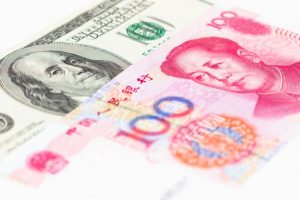 Chinese yuan weakens against US dollar