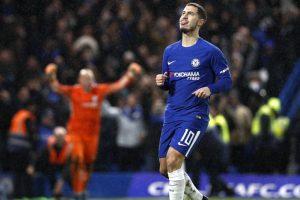 Watch: Chelsea star Eden Hazard delights young fan after Brighton win