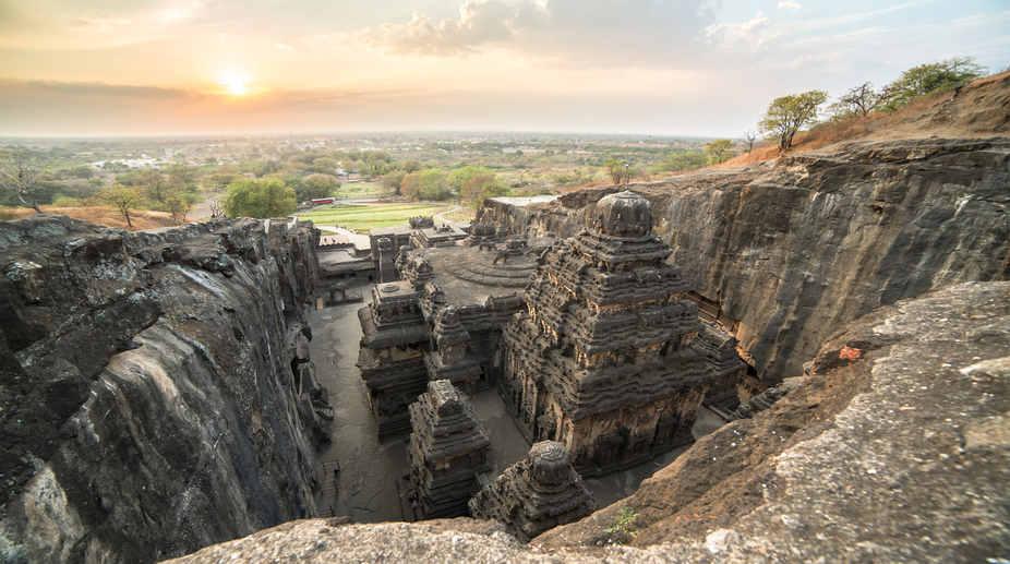 Kailas temple, Ellora caves complex, Maharashtra