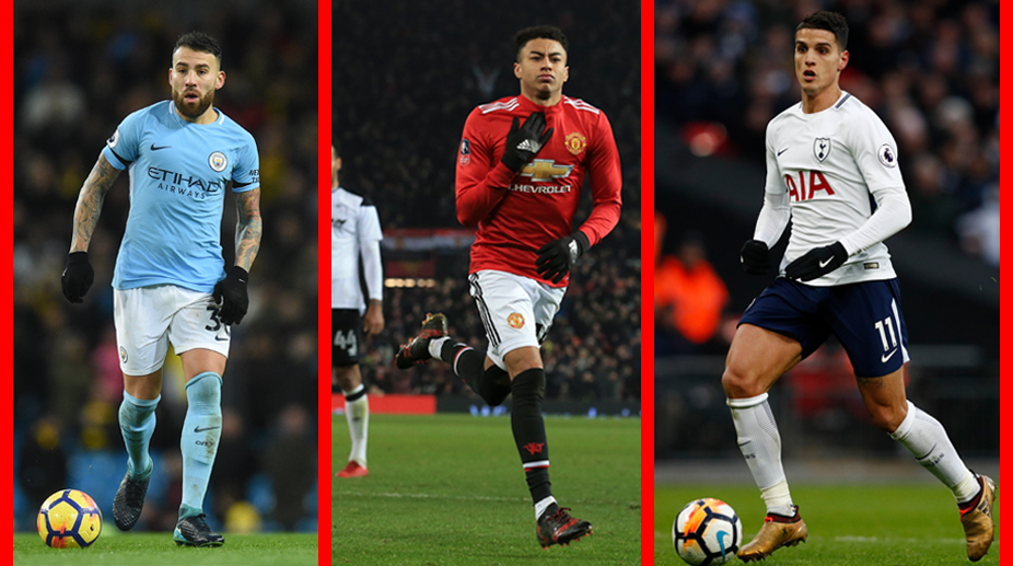FA Cup, FA Cup Fourth Round Draw, Premier League, Manchester United F.C., Manchester City F.C., Nicolas Otamendi, Erik Lamela, Jesse Lingard
