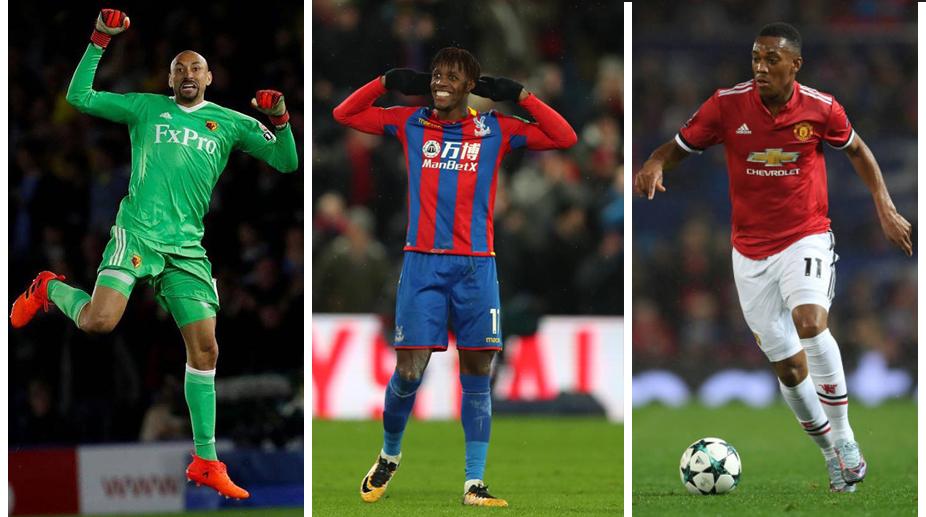 Heurelho Gomes, Wilfried Zaha, Anthony Martial, Manchester Untied F.C., Premier League, Fantasy Premier League