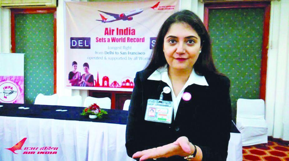 Harpreet A De Singh, IWPA event, Air India