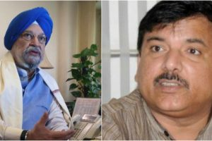 3 AAP MPs, one from BJP take oath in Rajya Sabha
