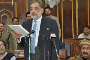 Finance Minister Drabu presents feel-good budget in J-K Assembly