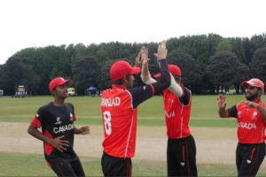 Akash Gill becomes first Canada batsman to hit century in ICC U19 Cricket WC