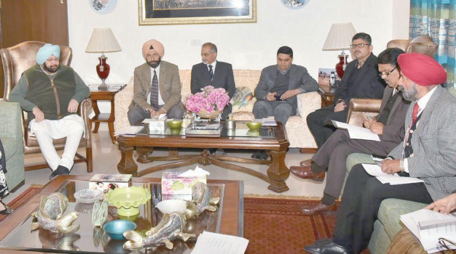 Chief Minister (CM) Amarinder Singh