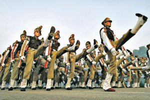 Republic Day parade caught in a time warp