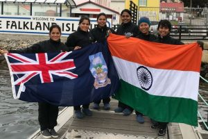 Indian Navy's all-women sailing boat reaches Falkland Islands