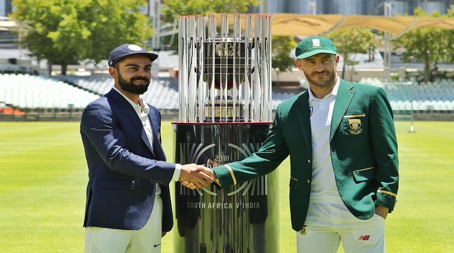 India vs South Africa first Test - Day 1 scoreboard