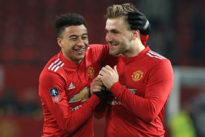 FA Cup: Manchester United ride late goals to beat Derby County