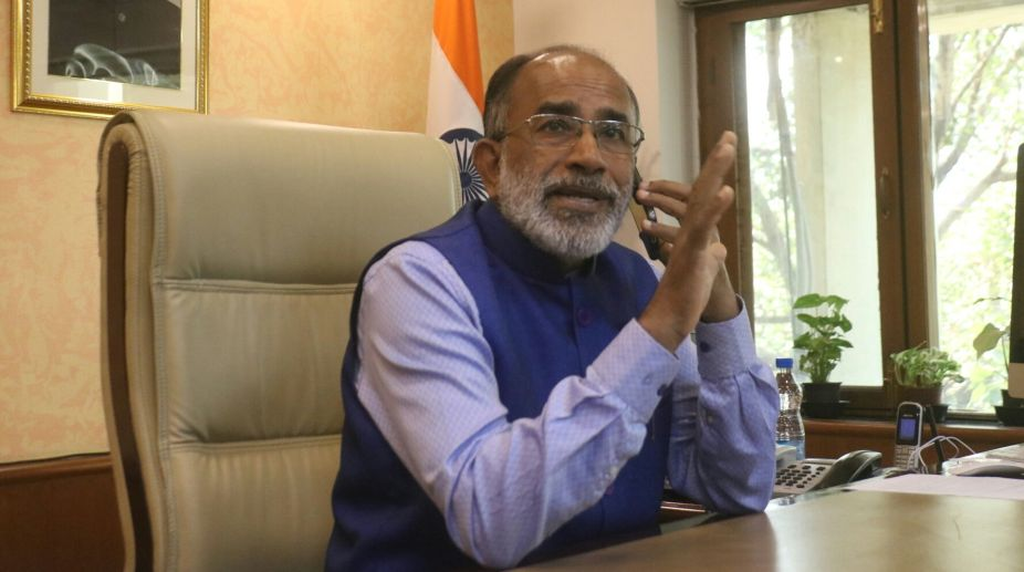 Aadhaar data safe, says Alphons