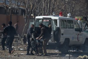Blast rocks embassy area in Kabul; 102 dead, 200 injured
