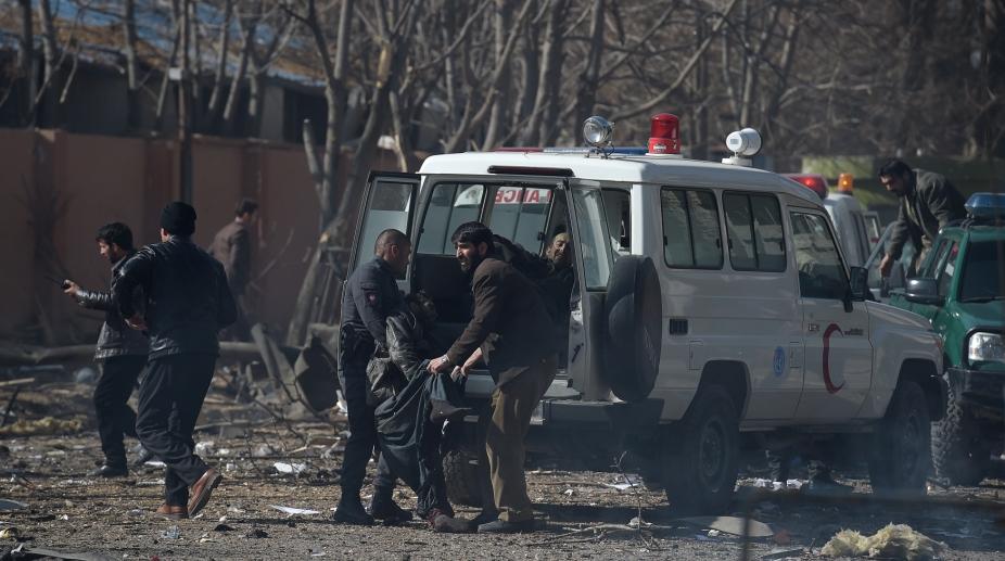 Kabul blast on Saturday, 27 January