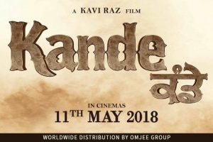Punjabi movie 'Kande' is set for release on May 11