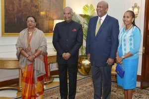 India cherishes partnership with Lesotho: President Kovind