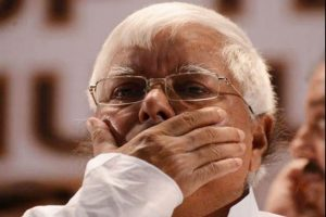 Lalu Yadav sentenced to 14 years in prison, fined Rs 60 lakh