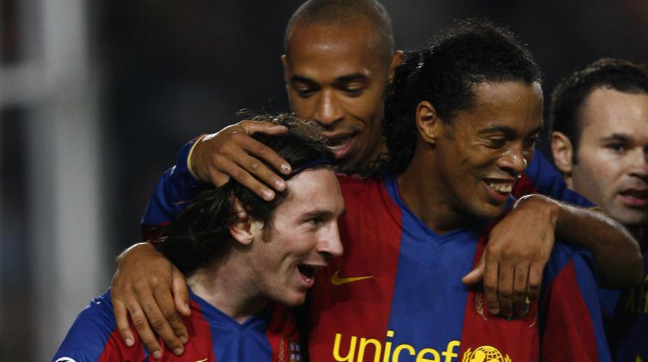 F.C. Barcelona, Ronaldinho, Lionel Messi, Thierry Henry