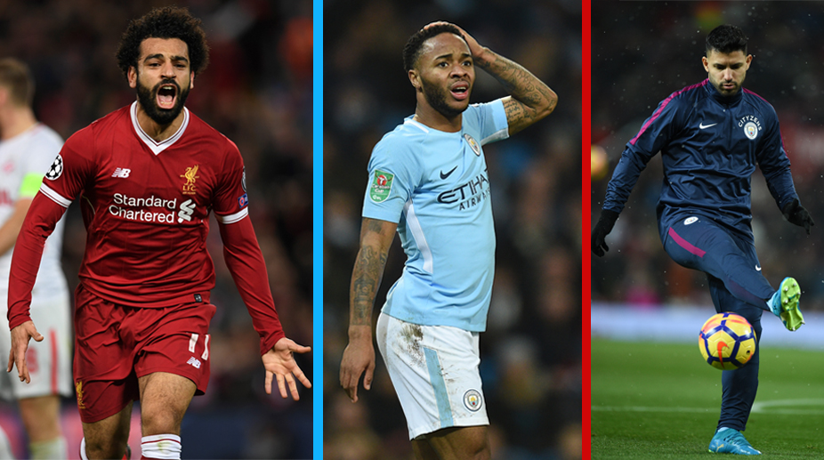 Liverpool vs Manchester City, Premier League, Liverpool F.C., Manchester City F.C., Raheem Sterling, Mohamed Salah, Serigo Aguero