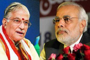 PM Modi prays for BJP leader MM Joshi's 'long life' on his birthday
