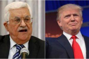 Palestinian president calls Trump peace offer 'slap of the century'